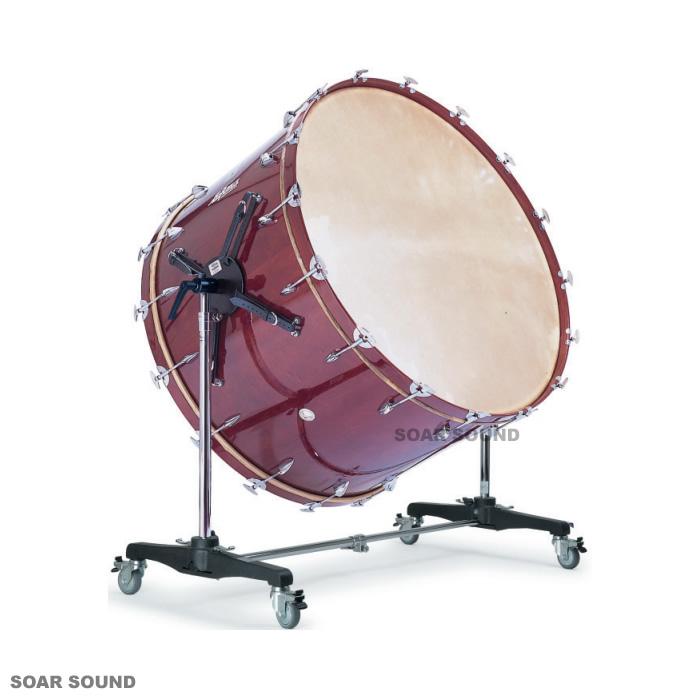 【スタンド付属】Lefima レフィーマ ドイツ製 コンサートバスドラム 40x25インチ 大太鼓 LF-BD40S