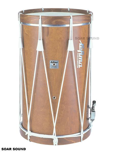 ロープ締め式 トラディショナル・マーチング・ドラム レフィーマ/ヒストリック・スタイル・フィールド・ドラム LF-LT371 直径14×深さ24インチ