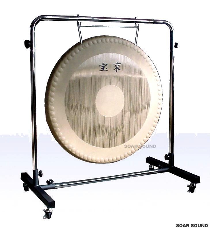 【日本製】宝来 銅鑼(ドラ) ゴング 32インチ(80cm) 11kg G-32