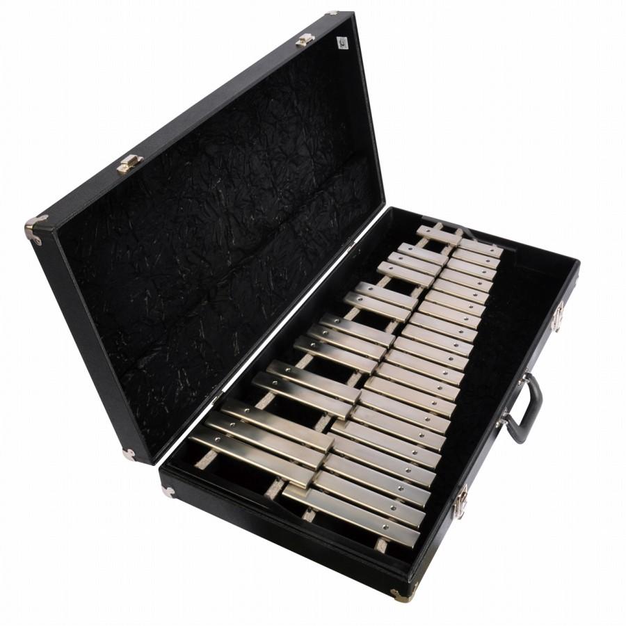 ADAMS アダムス グロッケンシュピール コンサート テーブルボックスモデル2.6オクターブ AD-GD26 鉄琴