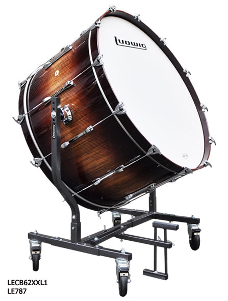 Ludwig ラディック コンサート バスドラム 20 X 36 グランドシンフォニックシリーズ LECB62XXL1 大太鼓