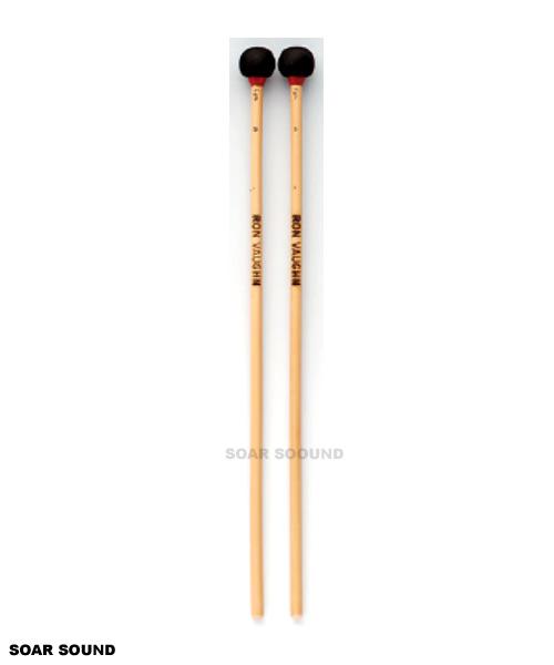RON VAUGHN ロンボーン ラタン 全長39.5cm ロン ロンヴォーン ヴォーン 激安 激安特価 送料無料 人気 おすすめ RVN-CymM5R サスペンドシンバル用マレット