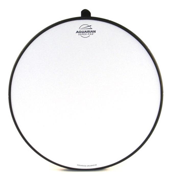 AQUARIAN アクエリアン 16インチ ドラム用 消音パッド ミュートパッド Super-Pad Low Volume Drumsurface SP-16 練習パッド・プラックティスパッド・トレーニングパッドとしても! フロアタムなどに!