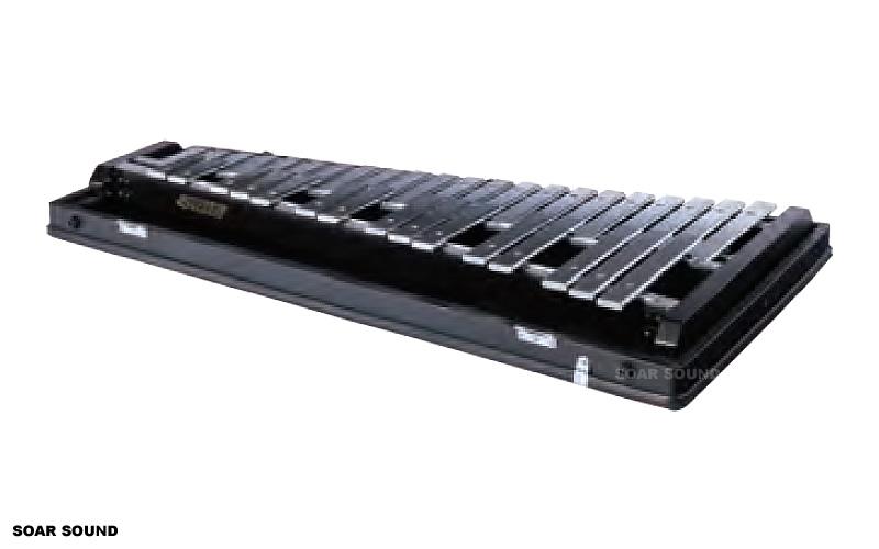 SAITO サイトウ コンサートグロッケン F57~F93 3オクターブ 37鍵 SG-120 鉄琴 マレット ケース 付属