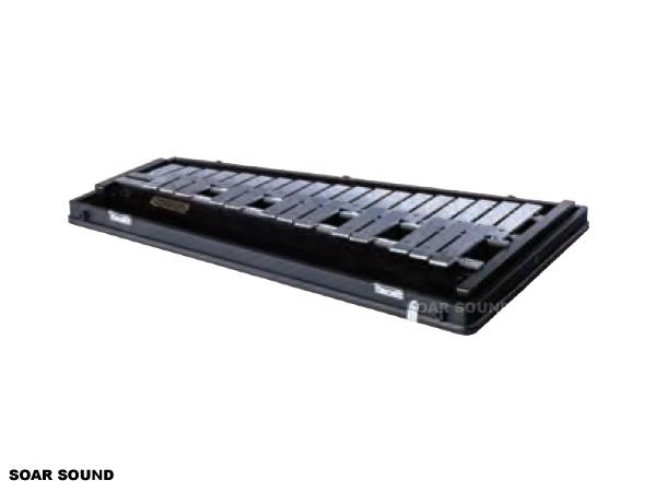 SAITO サイトウ コンサートグロッケン F57~C88 2 1/2オクターブ 32鍵 SG-88 鉄琴 マレット ケース 付属