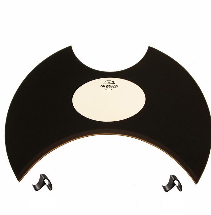 AQUARIAN アクエリアン 22インチ バスドラム用 消音パッド ミュートパッド Super-Pad Low Volume Drumsurface SPK22