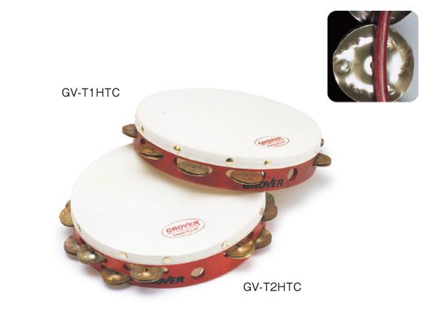 タンバリン グローバー GROVER /カスタム・ドライ・タンバリン HTC:加熱処理コパー GV-T1HTC