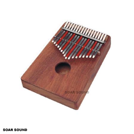 SOUND KING カリンバ トレブル Cメジャー スケール 17音(B~D)アフリカン SE-KT 民族楽器 アフリカ