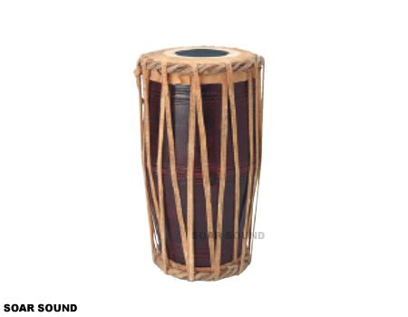 【受注後お取り寄せ】SOUND KING ウッドゥンマダル インド 打楽器 民族楽器 BG-222/S 両面 太鼓 ドラム