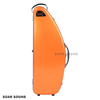 テナーサクソフォン用ケース bam France バム フランス La D#233;fense Hightech ラ・デファンス ハイテック DEF4102XLO 正規輸入品 オレンジ テナーサックス用バッグ