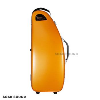 アルトサクソフォン用ケース bam France バム フランス La Défense Hightech ラ・デファンス ハイテック DEF4101XLO 正規輸入品 オレンジ アルトサックス用バッグ