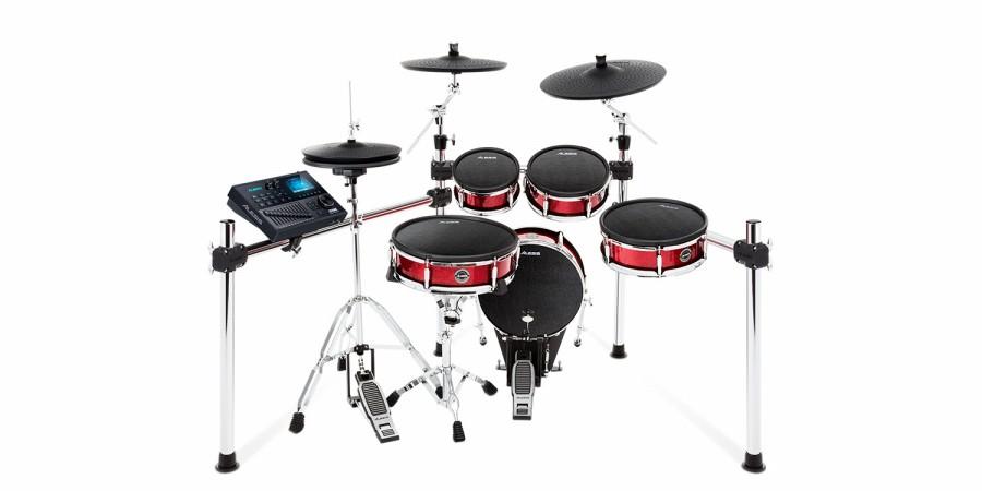 ALESIS アレシス 電子ドラムセット STRIKE KIT 8ピース・メッシュヘッド採用 プロフェッショナル 電子ドラムキット デジタルドラム エレドラ