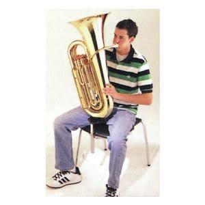 チューバレスト チューバ置き 演奏者用椅子・チェア Nota用 ミュージシャンチェア用 学校・音楽会・オーケストラ・吹奏楽に Wenger ウェンガー C-255TR