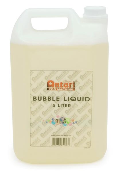 Antari アンタリ バブルマシン用 専用液 シャボン液 豊富な品 5リットル 人気ブレゼント! バブル リキッド BL-5