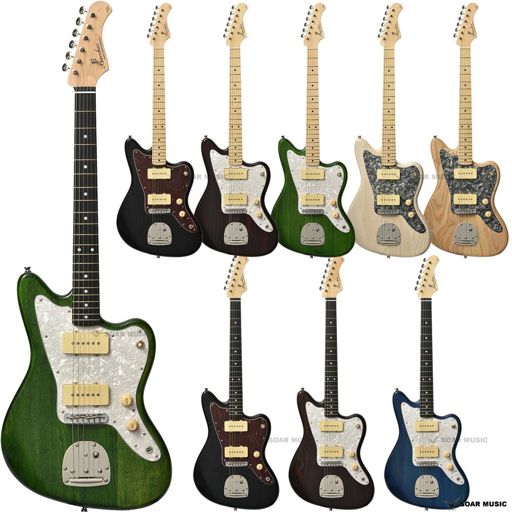 Bacchus バッカス Global Series ギター グローバルシリーズ BJM-80B ジャズマスター タイプ エレキギター