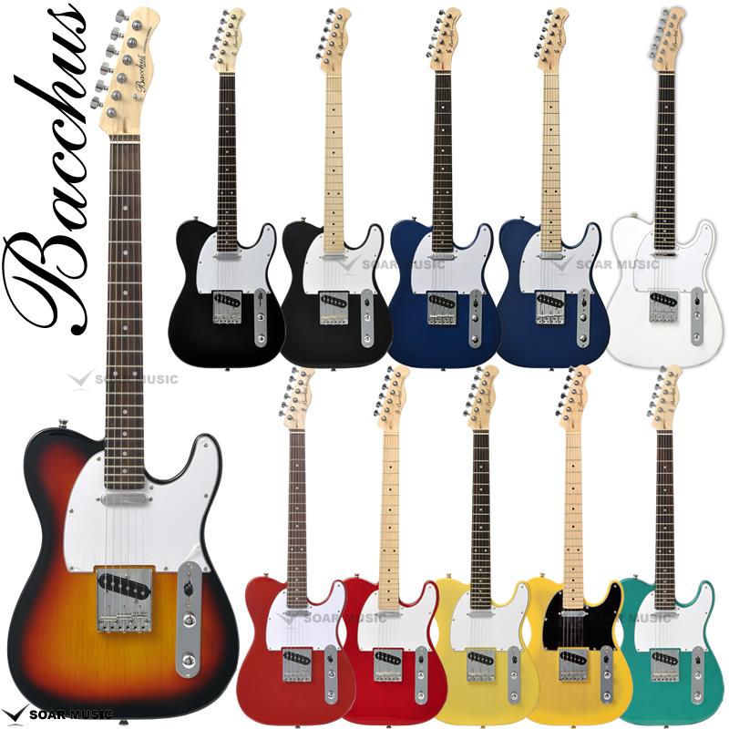 安心の初期調整済 Bacchus 超歓迎された バッカス BTE-1R BTE-1M テレキャスター タイプ エレキギター ユニバースシリーズ ギター にも BTE-1 初心者 あす楽 BTE1 入門用 最新