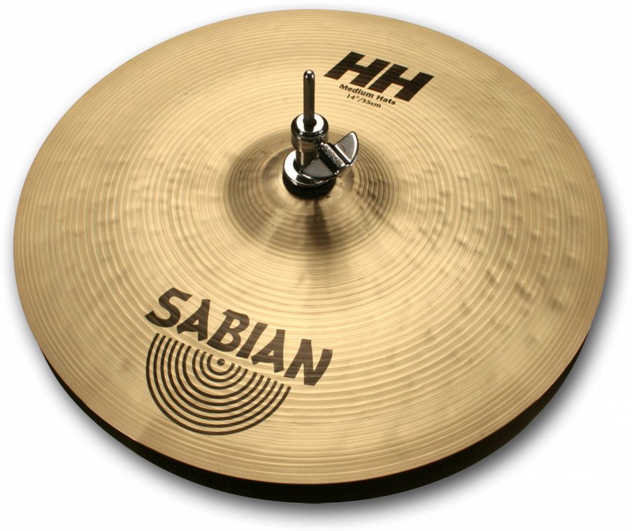 SABIAN HH MEDIUM Hats [HH-14THH 14″(35cm) Top (Medium)] セイビアン HH ハイハットトップ