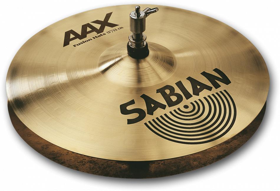 SABIAN AAX FUSION HATS [AAX-13TFUH-B 13″(33cm) Top (Medium Heavy)] セイビアン AAX ハイハットトップ