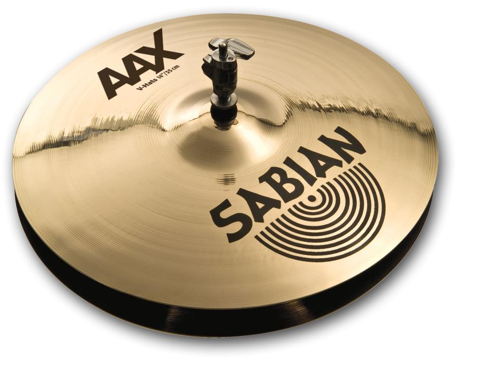 SABIAN AAX V Hats [AAX-14TVH-B 14″(35cm) Top (Medium)] セイビアン AAX ハイハットトップ