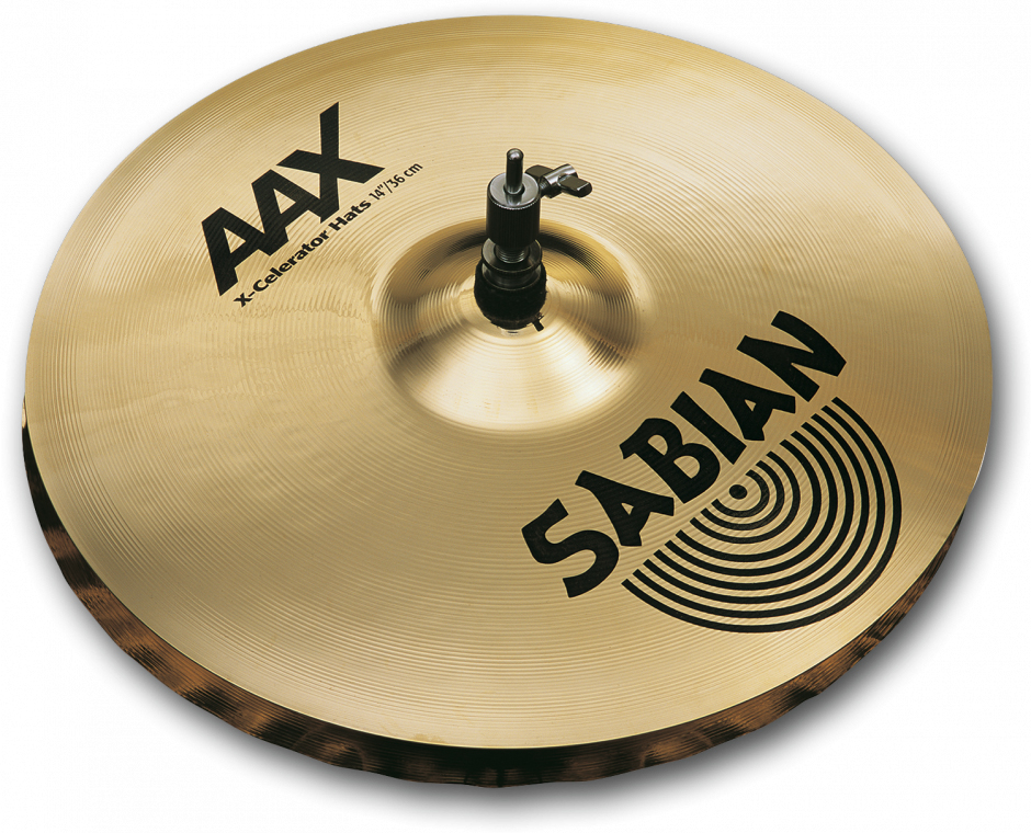 SABIAN AAX X-CELERATOR HATS [AAX-13TXH-B 13″(33cm) Top (Medium)] セイビアン AAX ハイハットトップ