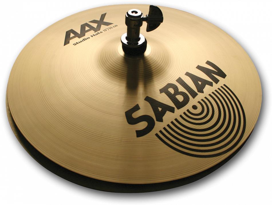 SABIAN AAX STUDIO Hats [AAX-14BSDH-B 14″(35cm) Bottom (Medium)] セイビアン AAX ハイハットボトム