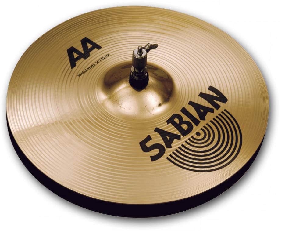SABIAN AA METAL Hats [AA-14TMEH-B 14″(35cm) Top (Medium)] セイビアン AA ハイハットトップ