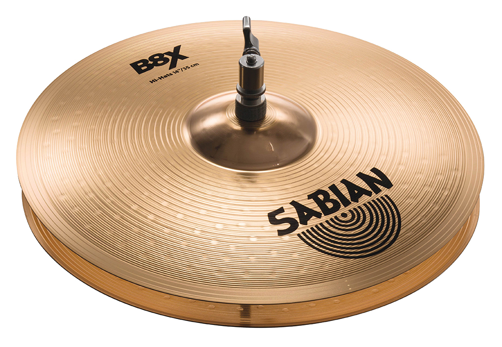 SABIAN B8X HATS [B8X-14BHH 14″(35cm) Bottom (Heavy)] セイビアン B8X ハイハットボトム