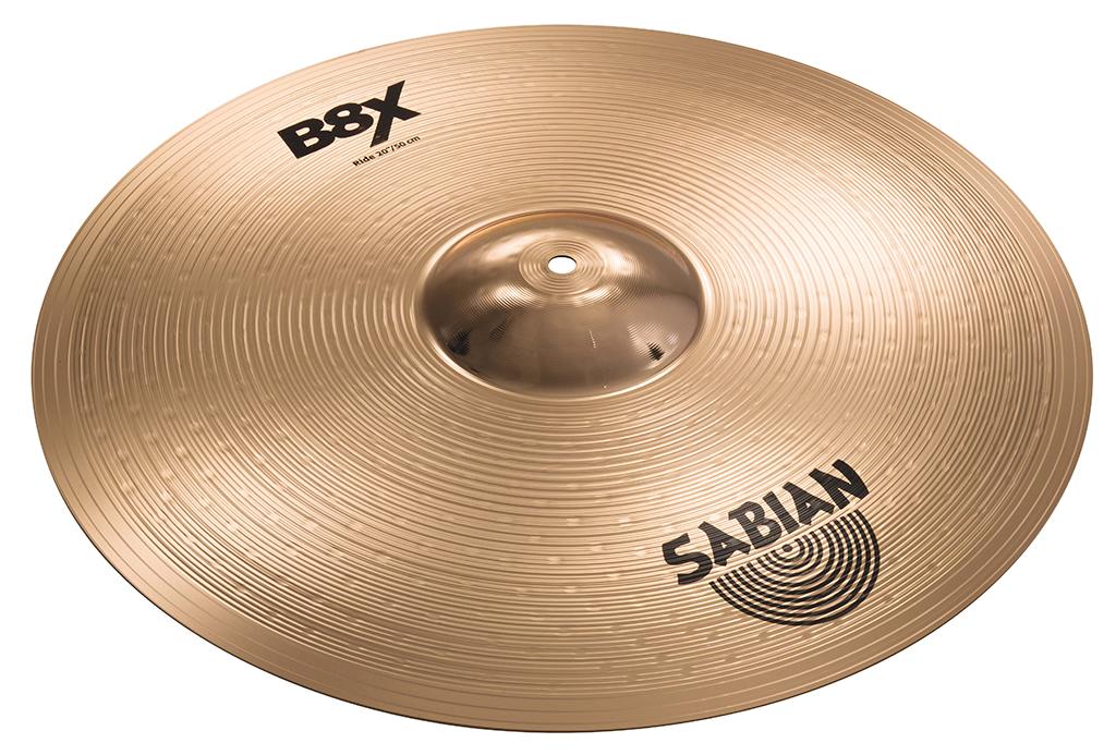 SABIAN B8X RIDE [B8X-20R 20″(51cm) : Medium] セイビアン B8X ライドシンバル