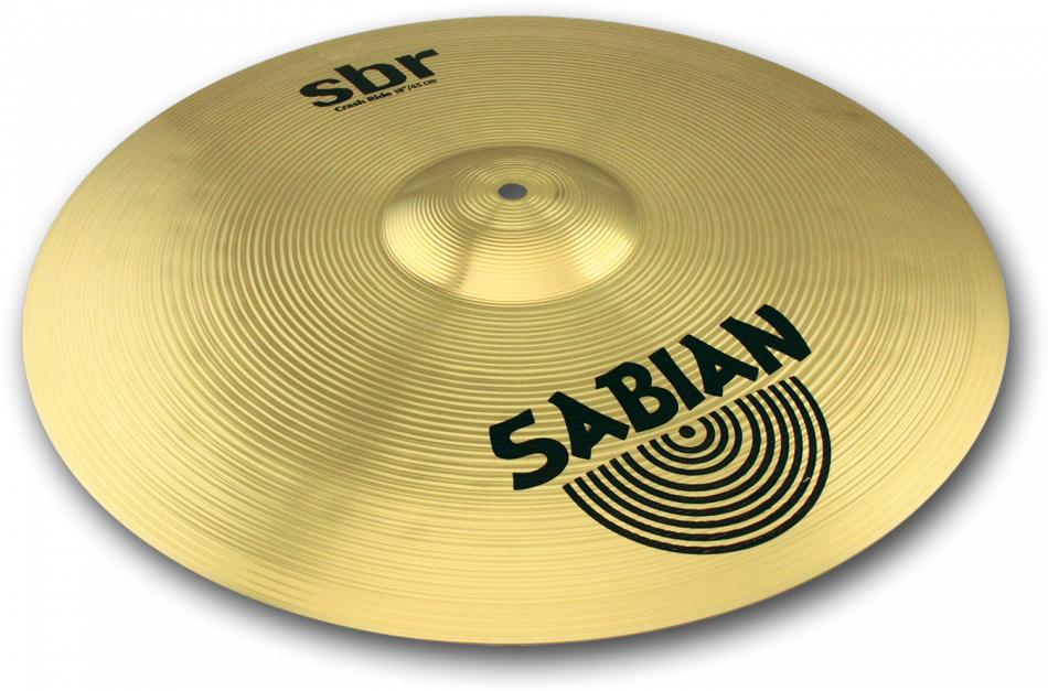 18″(46cm) SBR SABIAN Medium] : クラッシュライドシンバル SBR CRASH [SBR-18CR セイビアン RIDE
