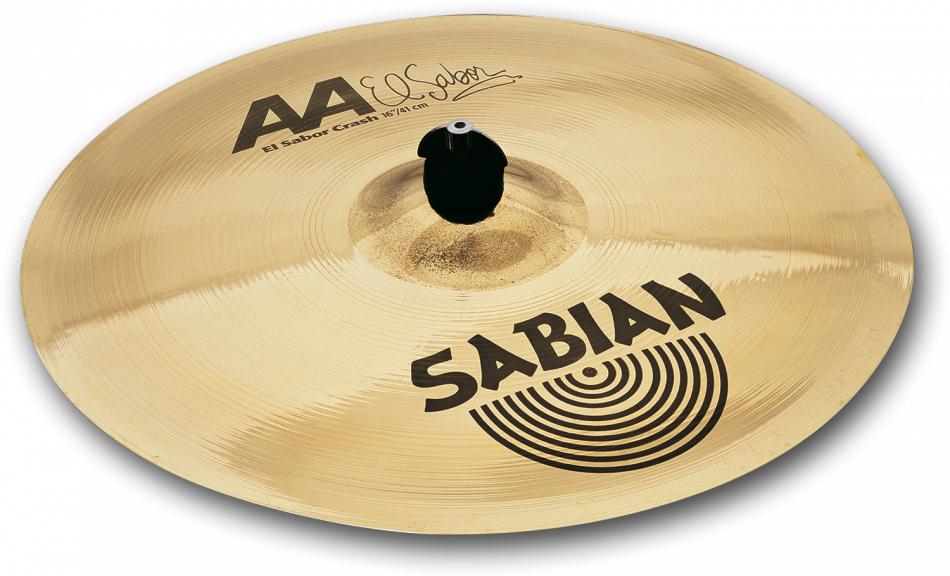 SABIAN AA EL SABOR CRASH [AA-16ES 16″(41cm) : Thin] セイビアン AA クラッシュシンバル