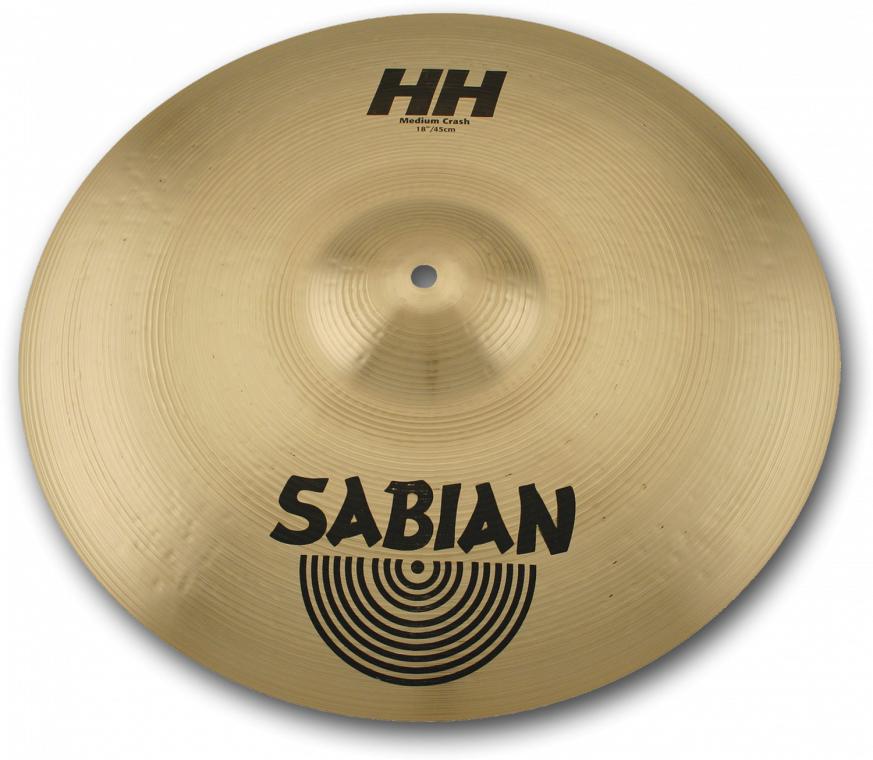 SABIAN HH MEDIUM CRASH [HH-18MC 18″(46cm) : Medium] セイビアン HH クラッシュシンバル