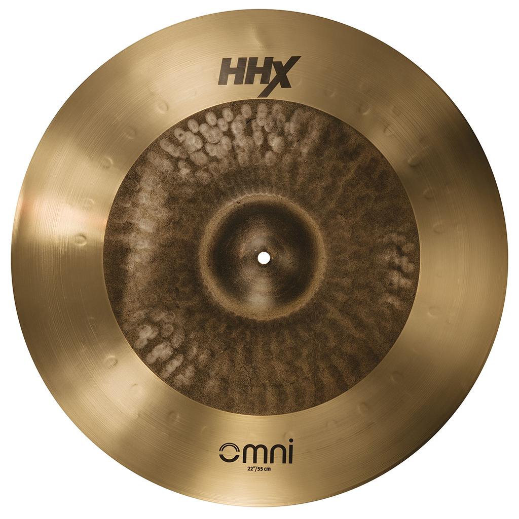SABIAN HHX OMNI [HHX-22OMX 22″(55cm) : Medium Bell / Extra Thin Edge] セイビアン HHX OMNIシンバル