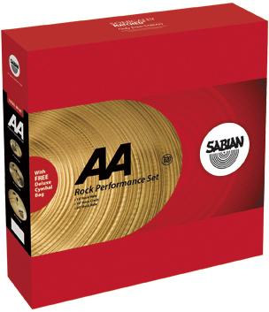 SABIAN AA Series ROCK PERFORMANCE SET [AA-PFSET/R] セイビアン AA パフォーマンスセット