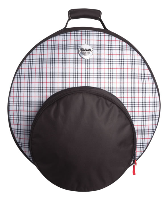 SABIAN セイビアン バックパック シンバルバッグ SAB-F22BPD シンバル用ケース ソフトケース リュック仕様 22インチまで FAST Cymbal Bags Bold in Plaid