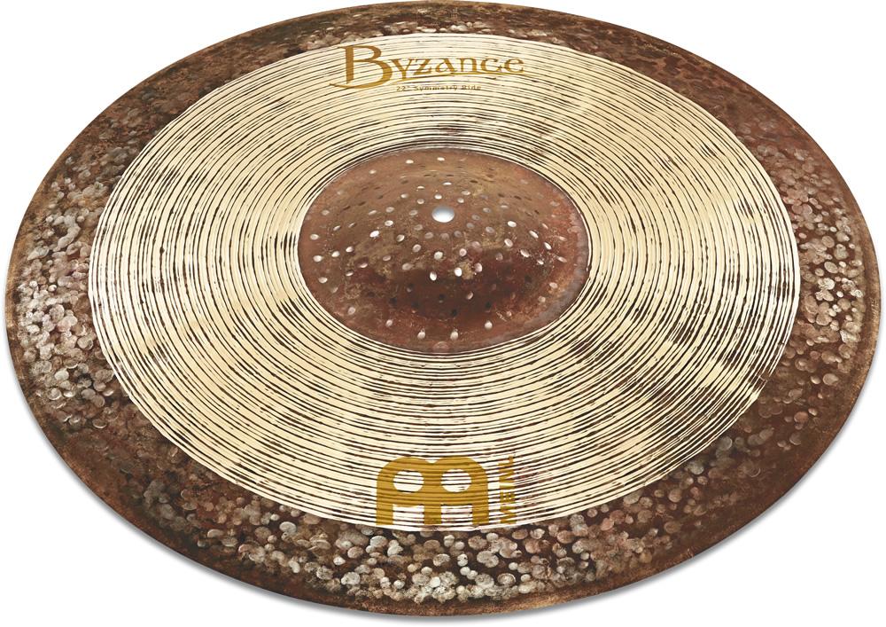 ライドシンバル MEINL / マイネル Byzance Jazz Series Ralph Peterson's signature cymbal:Symmetry Ride 22
