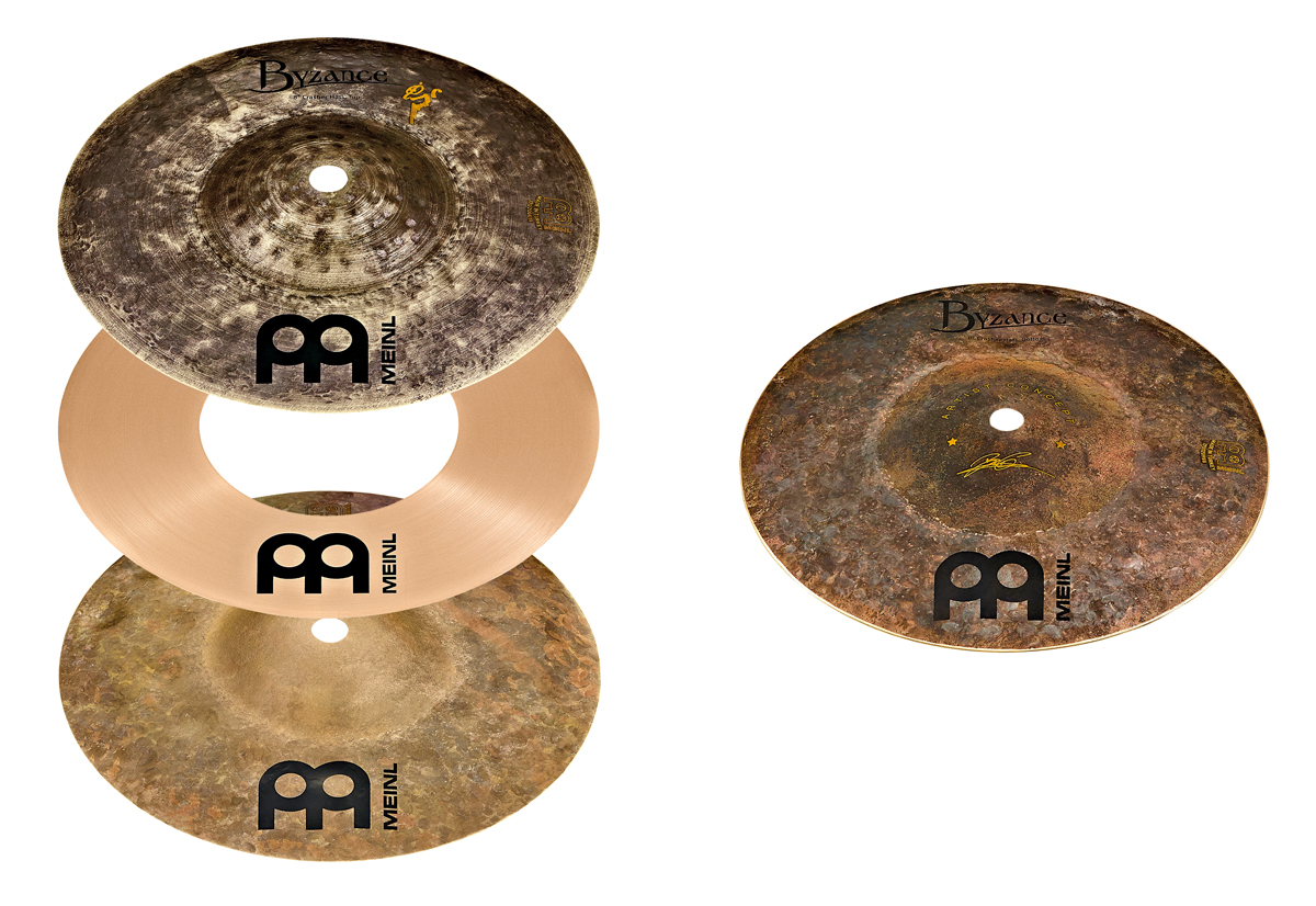 MEINL(マイネル) / The Artist Concept Models / Benny Grab - Crasher Hats with X-Hat Auxiliary Hihat Arm / (AC-CRASHER)