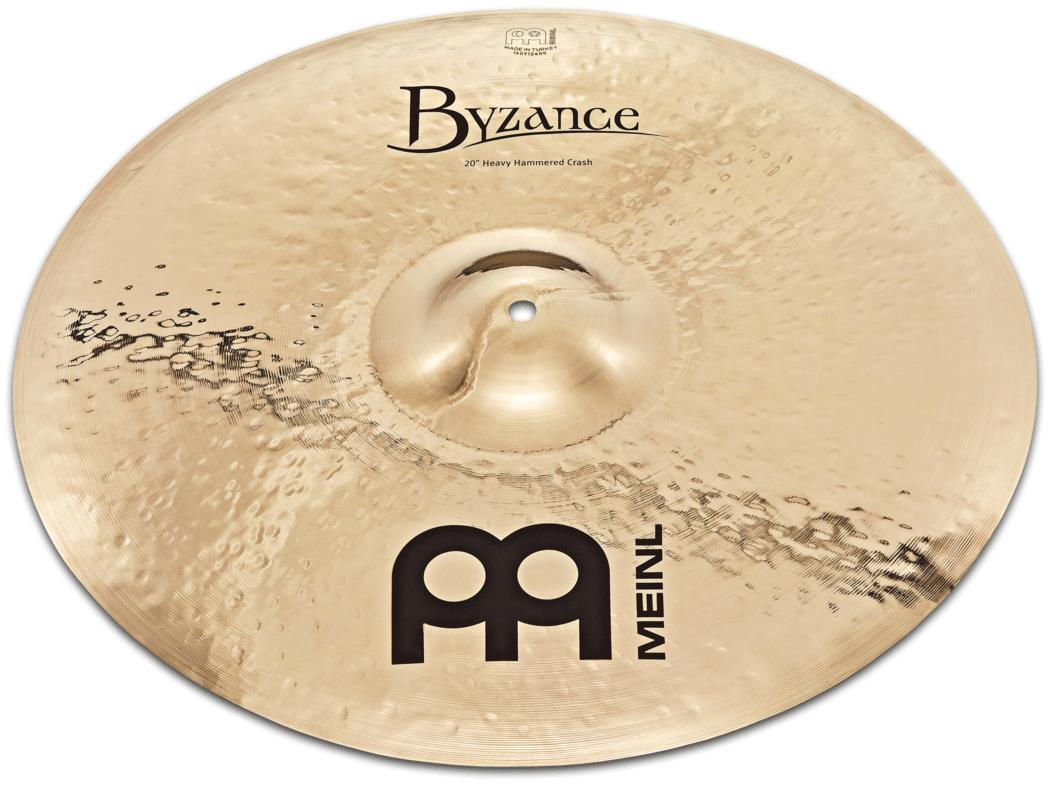 クラッシュシンバル MEINL / マイネル Byzance Brilliant Series:Hvy Hammerd Crash 18