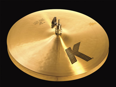 "Hi-Hat Light HiHats left high hats 14 ""36 cm bottom Medium NKZL14LHB / K Zildjian ZILDJIAN cymbals"