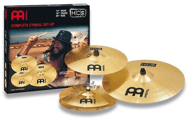 【在庫有り・即納OK!】シンバルセット MEINL / マイネル HCS Series Complete Cymbal Set-up:HCS141620[Hihat 14