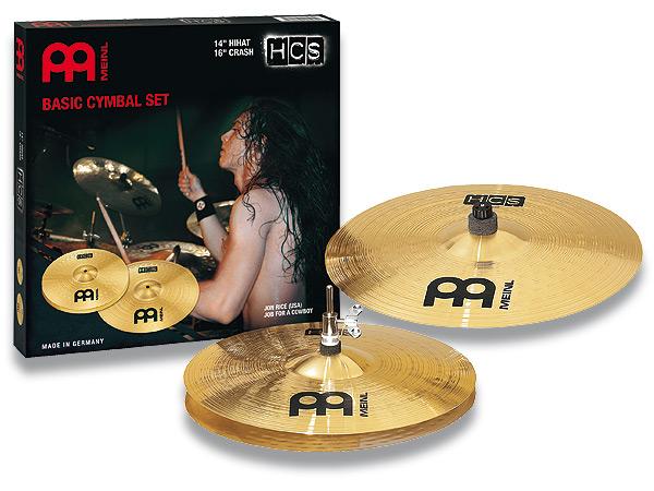 シンバルセット MEINL / マイネル HCS Series Basic Cymbal Set:HCS1416[Hihat 14
