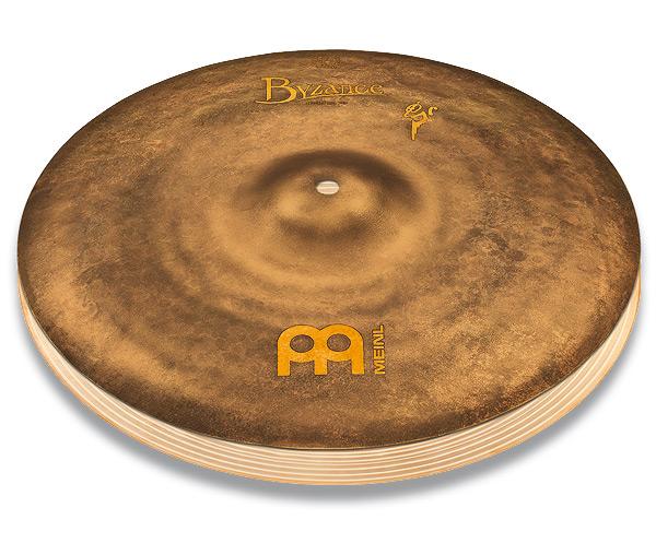 ハイハットシンバル MEINL / マイネル Byzance Vintage Series Benny Greb's signature cymbal:Sand Hats 14