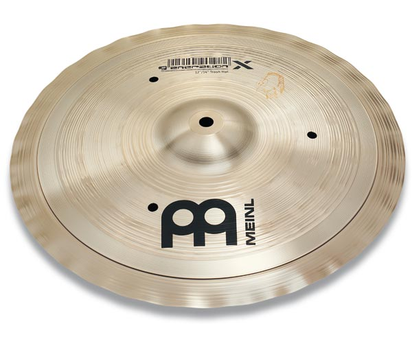 エフェクトハイハットシンバル MEINL / マイネル Generation X Series Benny Greb's signature cymbal:Trash Hats 14