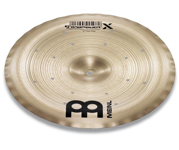 エフェクトチャイナシンバル MEINL / マイネル Generation X Series Thomas Lang's signature cymbal:Filter China 16