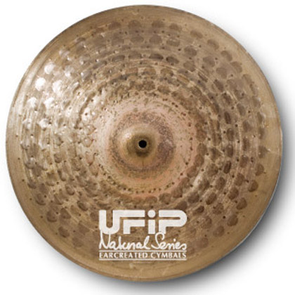 UFiP シンバル Naturalシリーズ Natural - Hi Hat (Light) NS-14LHH ハイハット