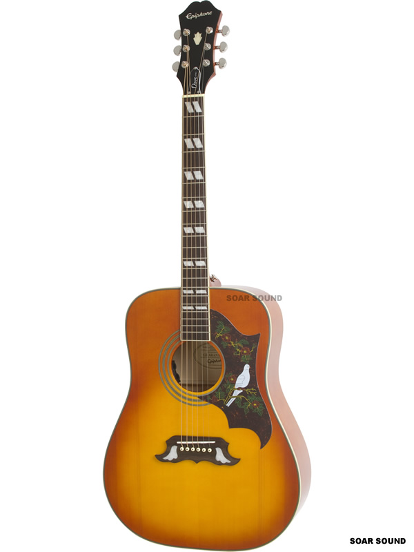 Epiphone エピフォン DOVE PRO VB with FISHMAN SONTONE エレアコ アコースティックギター アコギ ギター