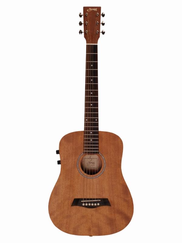 S.Yairi Sヤイリ 580mm スケール ミニ エレアコ YM-02E/MH ミニギター ミニアコギ アコースティックギター