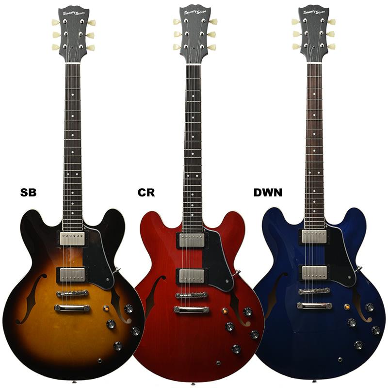 【4月下旬入荷】 Seventy Seven EXRUBATO-STD/JT エレキギター セミアコ Deviser ディバイザー ギター