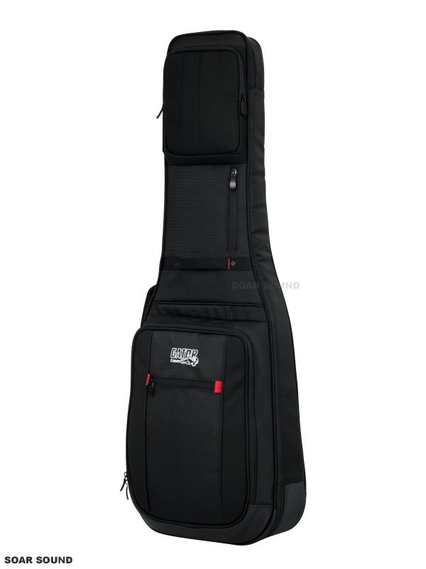 GATOR エレキギター用 ギグバッグ Pro-Go Electric Guitar Gig Bag ギグケース セミハードケース G-PG ELECTRIC レインカバー付