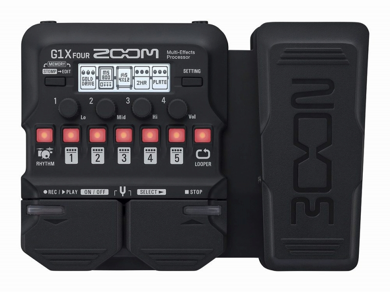 ZOOM ズーム ギター用 マルチエフェクター G1X FOUR エレキギター用 マルチ エフェクター