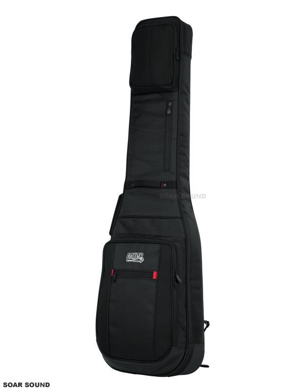 GATOR エレキベース用 ギグバッグ Pro-Go Bass Guitar Gig Bag ギグケース セミハードケース G-PG BASS レインカバー付